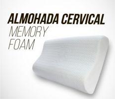 ALMOHADA CERVICAL  MEMORY FOAM