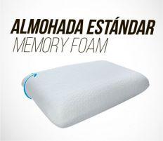 ALMOHADA ESTÁNDAR  MEMORY FOAM