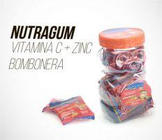 NUTRAGUM VITAMINA C + ZINC - BOMBONERA