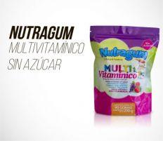 NUTRAGUM KIDS MULTIVITAMÍNICO - SIN AZÚCAR DOYPACK